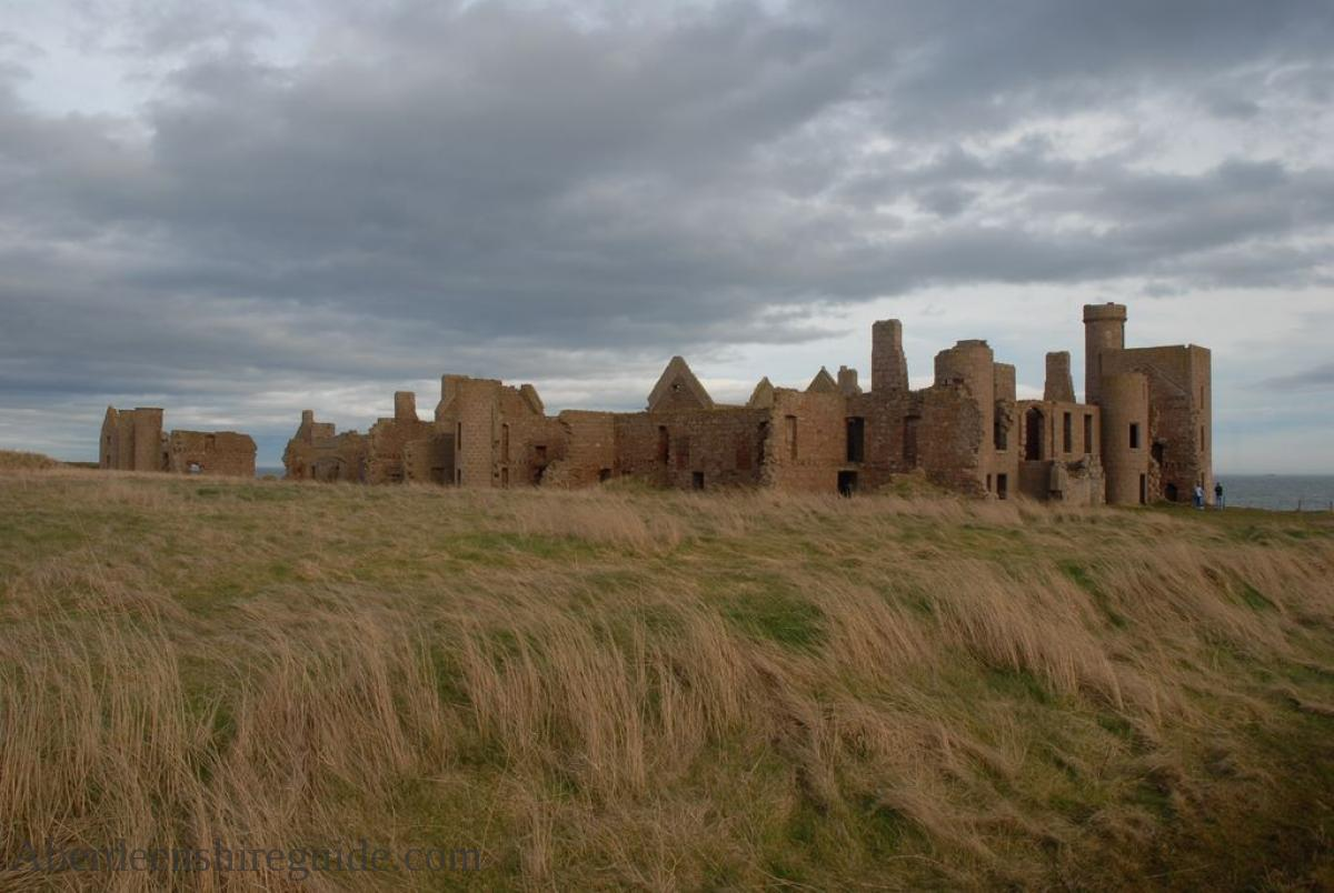 slains castle cruden bay