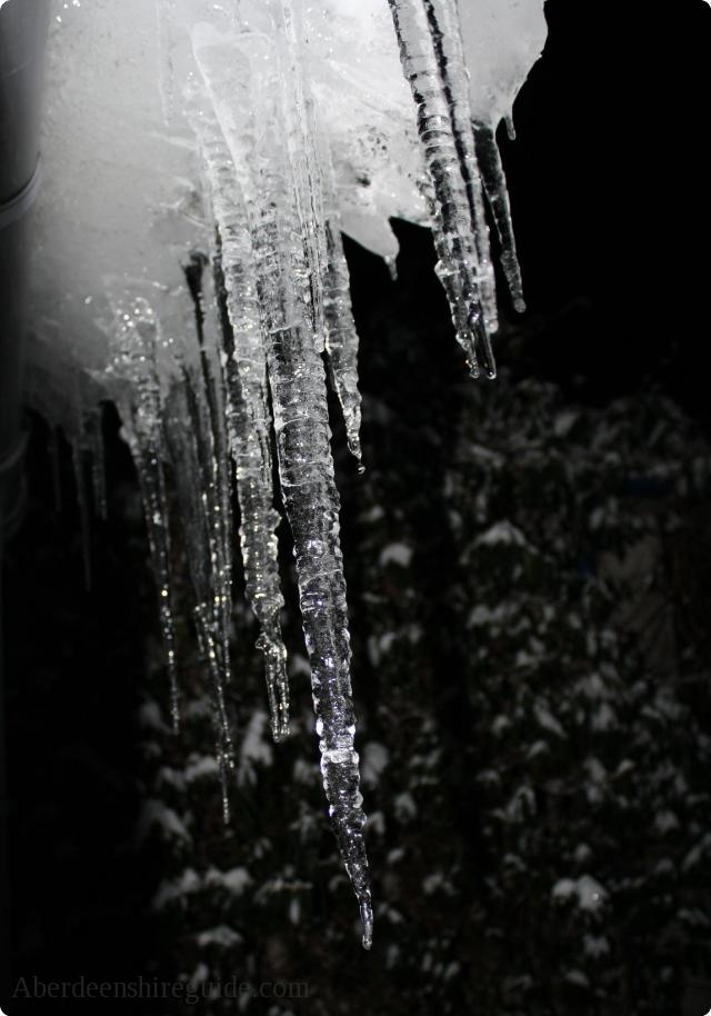 Aberdeenshire Icicles